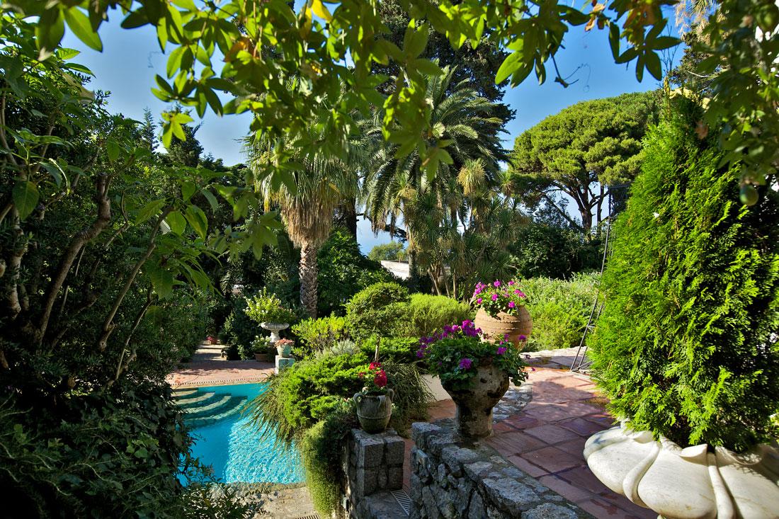 Villa le scale fdf design for Villas in capri